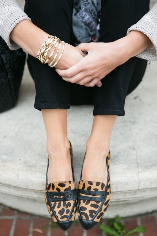 leopar print shoes