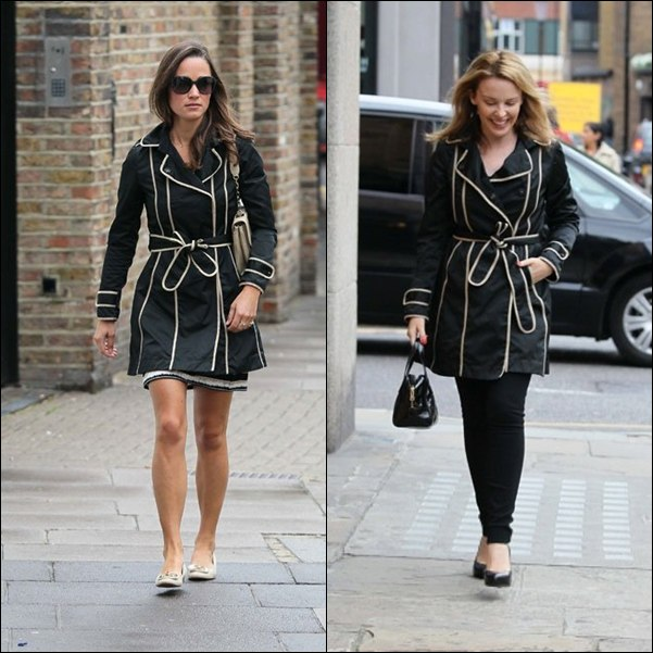 pippa middleton trench