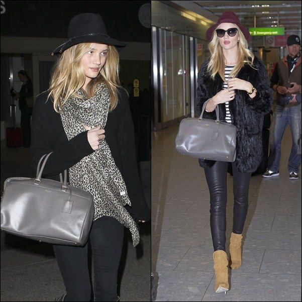 Rosie Huntington-Whiteley bolso saint laurent