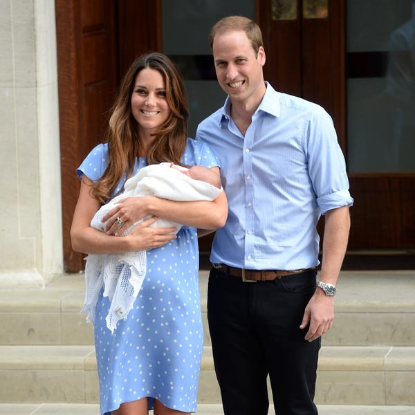 Kate Middleton Guillermo bebe