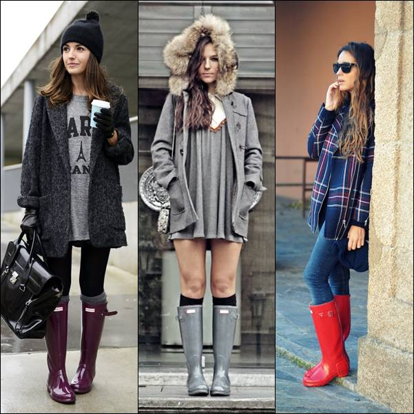 botas hunter lovely pepa