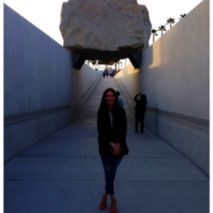 Levitated Mass de Michael Heizer