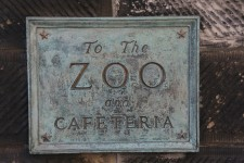 To the Zoo and cafeteria