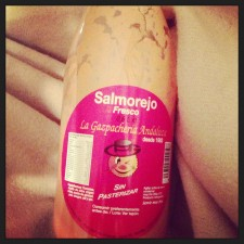 Salmorejo...¡exquisito!