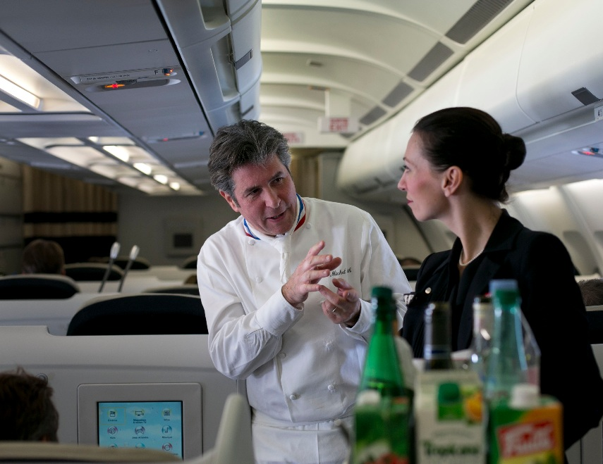 gastronomia en Air France