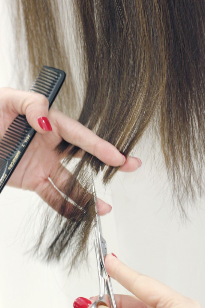 Cortando extensiones