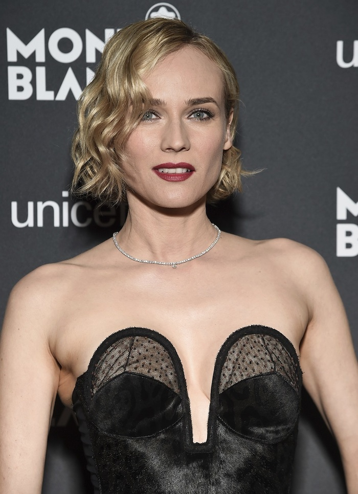 Diane Kruger attending Montblanc for UNICEF event in New York