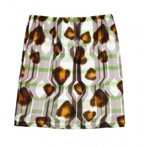 Textile Federation for ASOS Printed Woven Skirt ú35.00