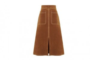 Autograph-Suede-Skirt