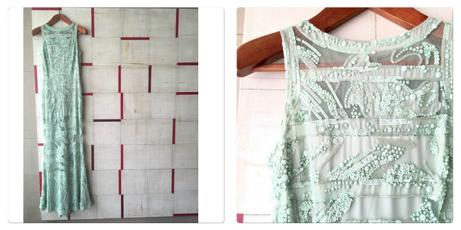 collage vestido