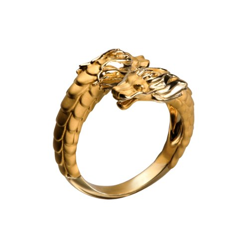 14 SO Nieves Alvarez C¡rculos de Fuego Mini Ring in yellow gold