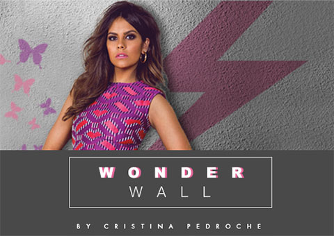 Wonder Wall by Cristina Pedroche